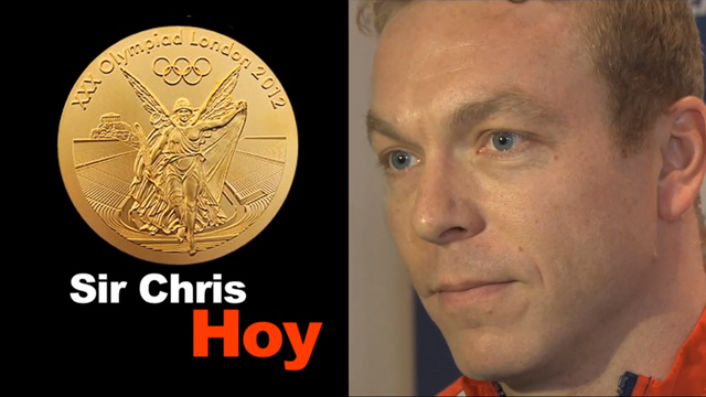Sir Chris Hoy - Team GB winners