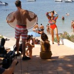 Branding: Filming in Ibiza to produce a promotional video for a London agency MOT Models..