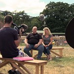 VSI TV on location in the UK filming an episode of Wild Thing.